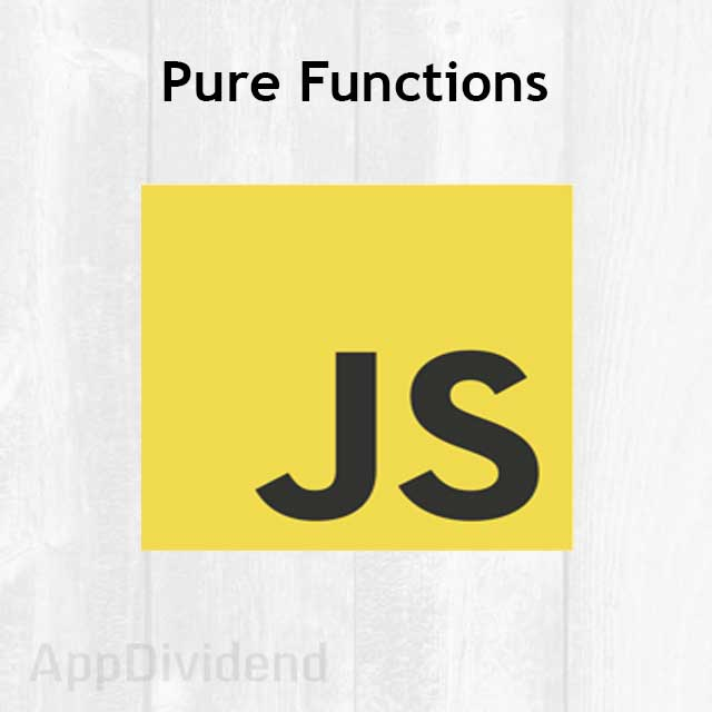Pure Functions In Javascript