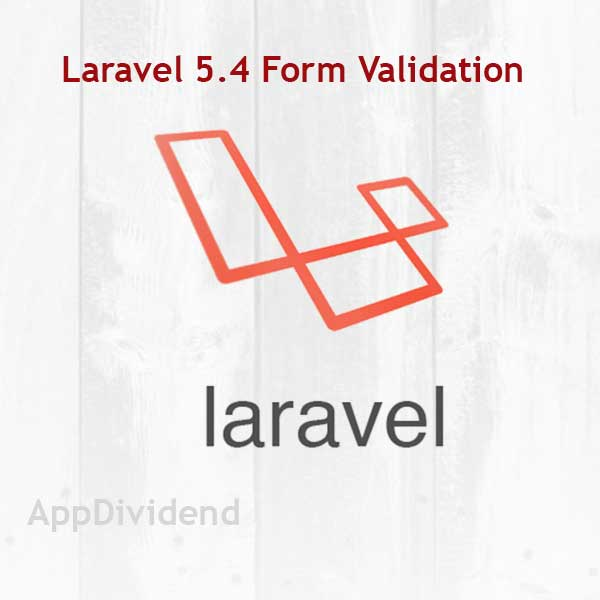 Laravel 5 Validation Example From Scratch