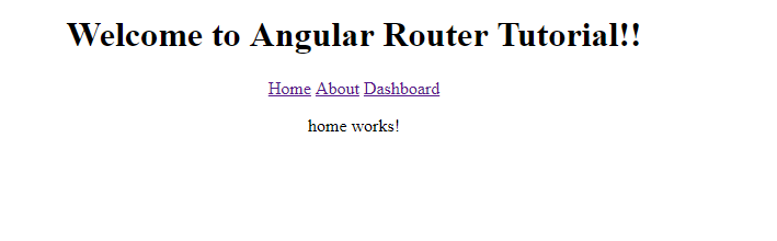 Angular 4 Router Tutorial With Example 2017