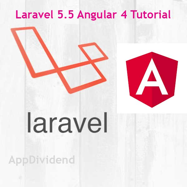 Laravel 5 5 Angular 4 Tutorial Example From Scratch