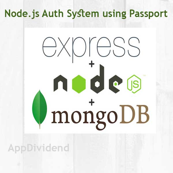 Simple Nodejs Authentication System Using Passport