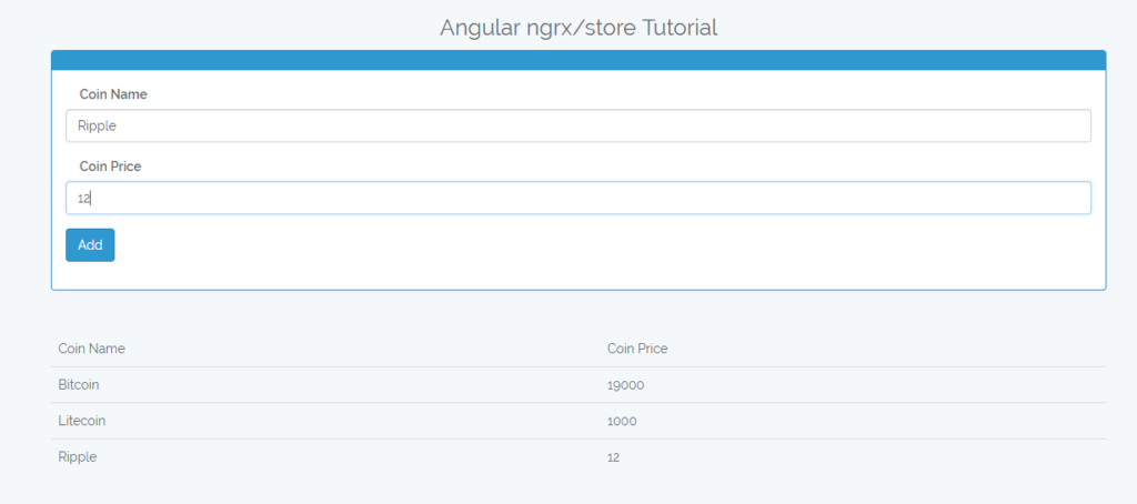 Angular 5 ngrx store tutorial with example from scratch