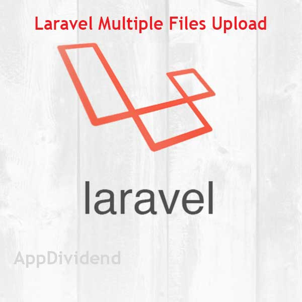 Laravel Multiple Files Upload Tutorial Example From Scratch