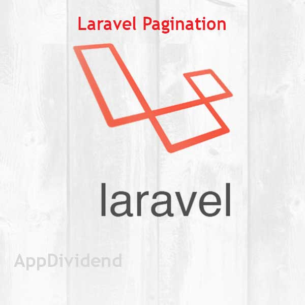 Laravel Pagination Example Tutorial