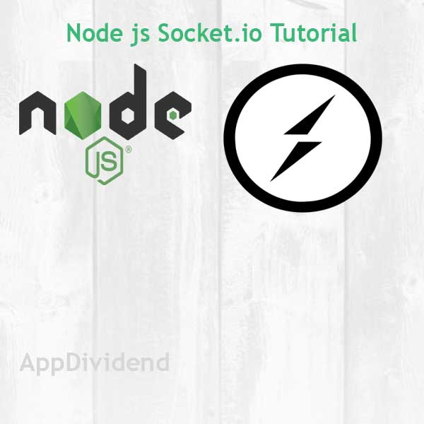 Node js Socket io Tutorial