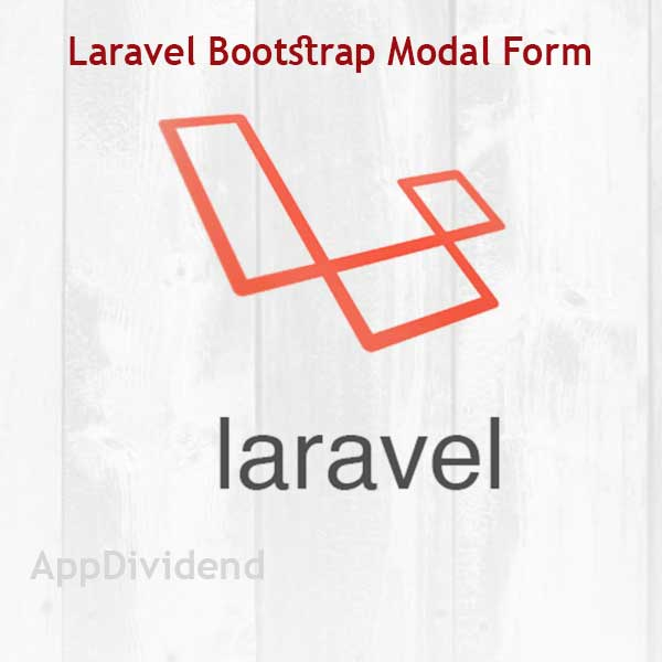 Laravel Bootstrap Modal Form Validation Tutorial