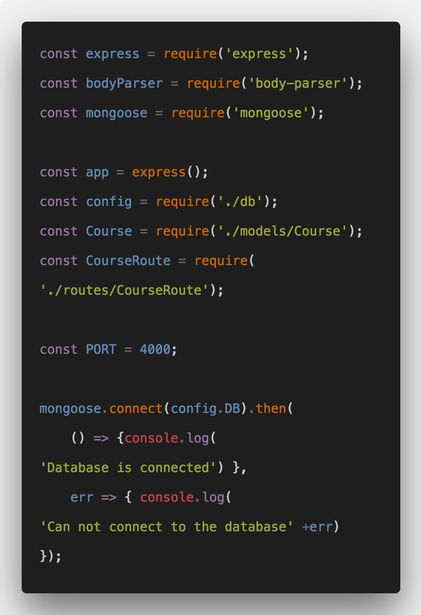 mongodb node js rest api example tutorial