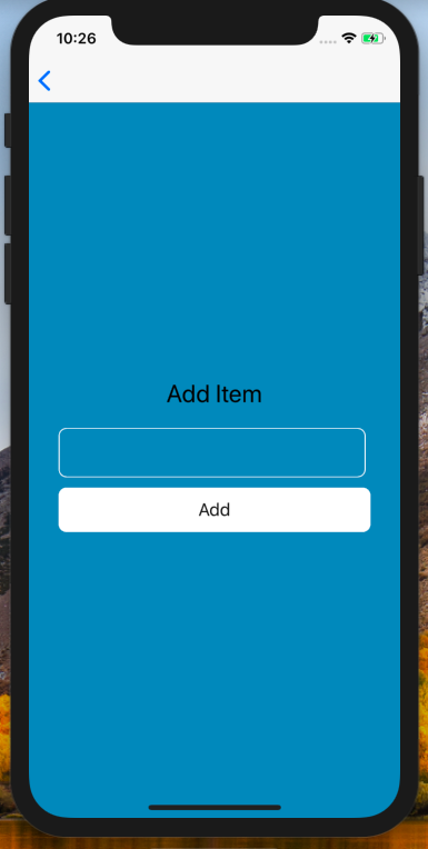 Firebase React Native Example