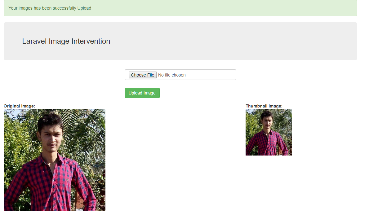 Laravel Image Intervention Tutorial with Example