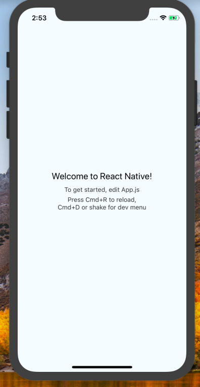 React Native Firebase Example