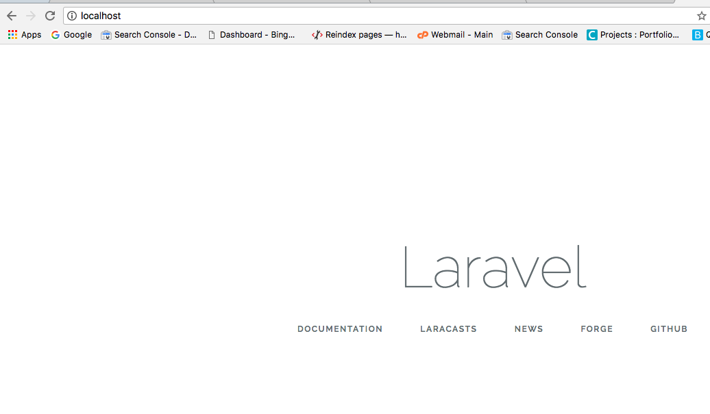 How To Setup Laravel In Docker Container Tutorial