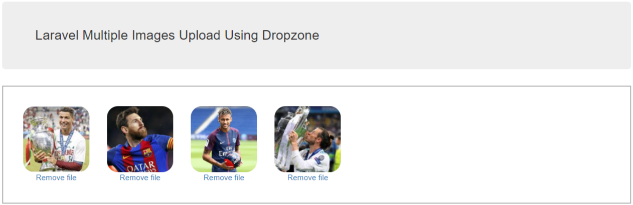Laravel Dropzone Image Upload Tutorial With Example