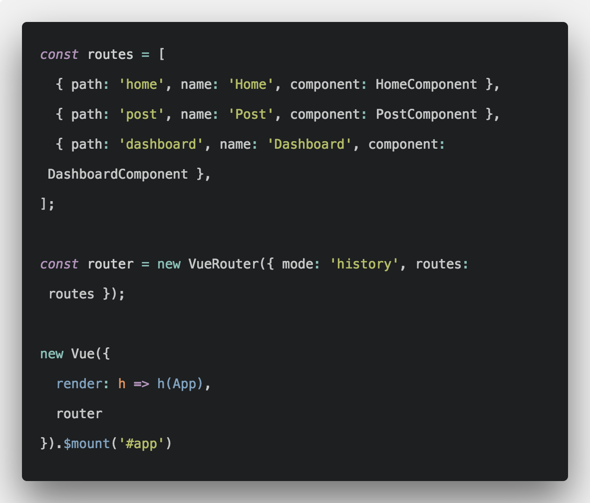 Vue Router Example