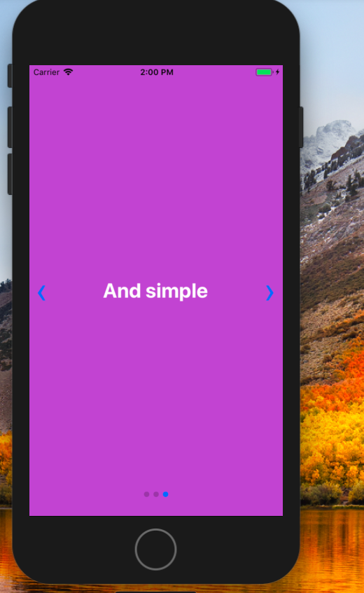 React Native Swipe Components Example