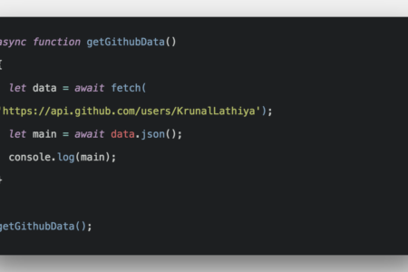 Javascript Fetch API Example Tutorial From Scratch