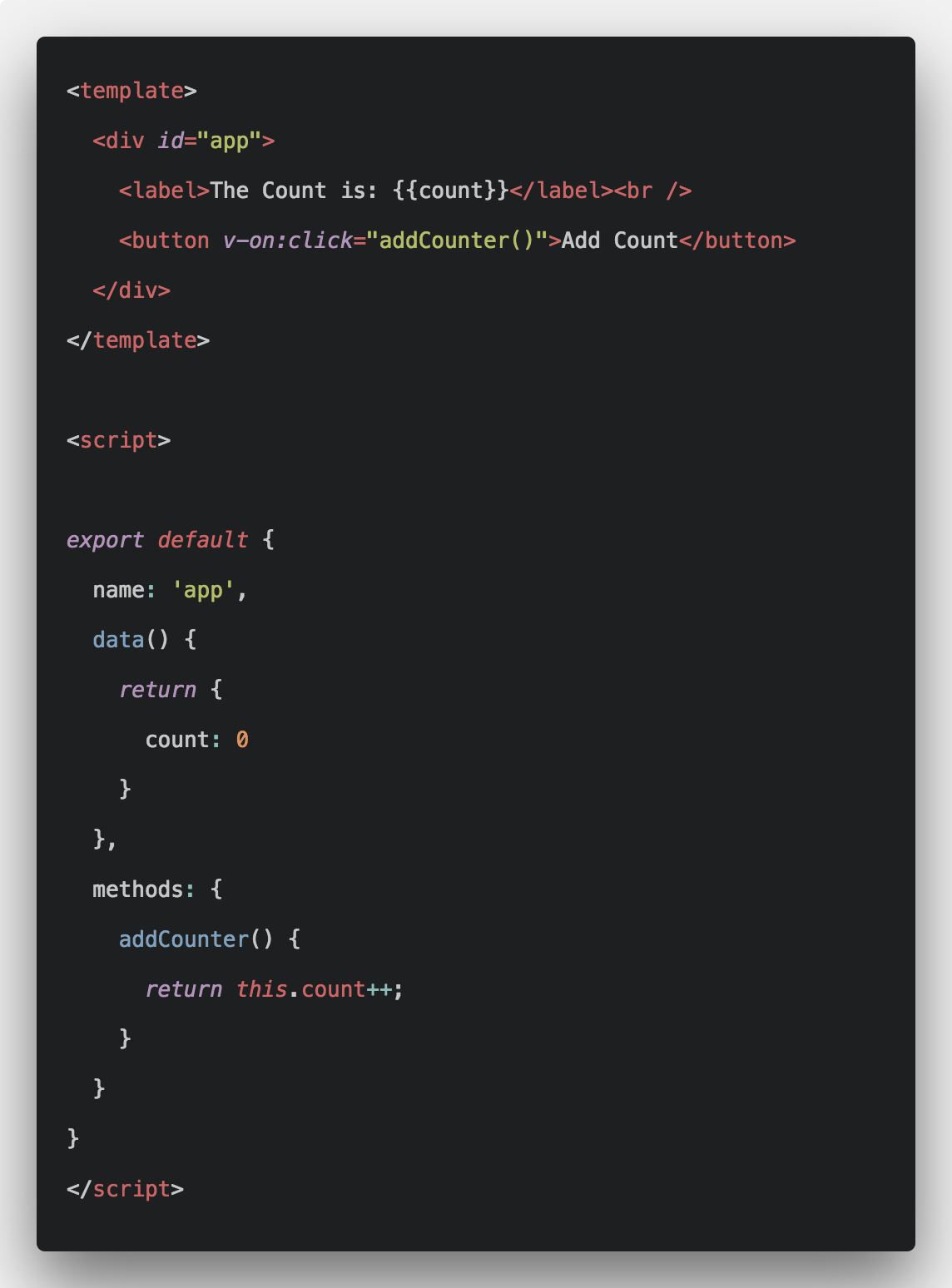 Vue Event Handling Tutorial With Example