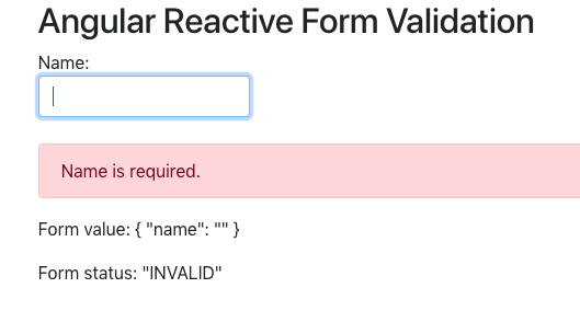 Angular 7 Form Validation Example Tutorial