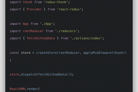 Redux Thunk Tutorial With Example From Scratch