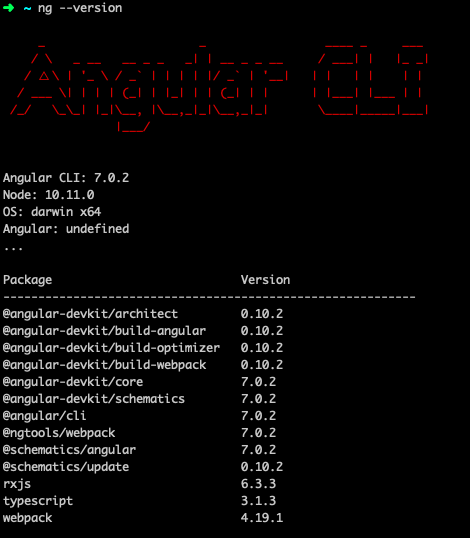 How To Update Angular CLI To Version 7