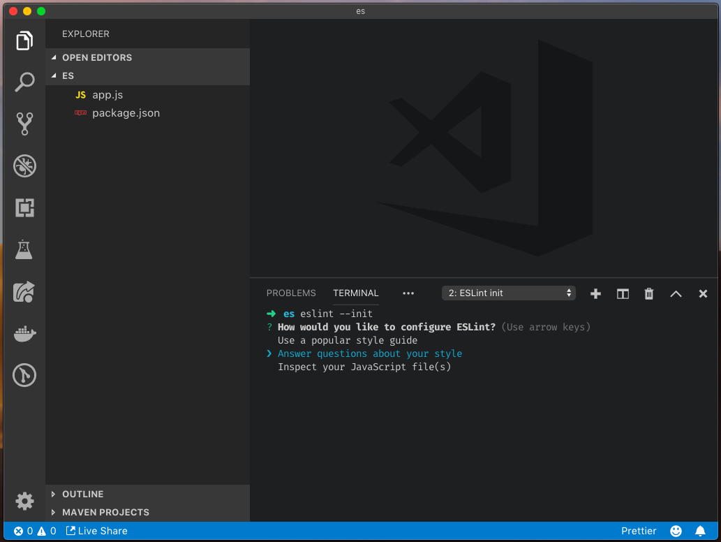 How To Configure ESLint in Visual Studio Code on Mac