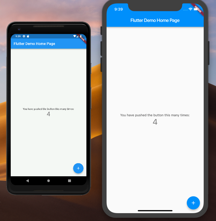 Flutter iOS and Android Projects