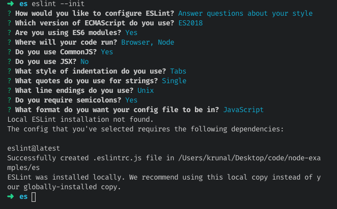 Getting Started with ESLint