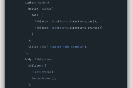 Flutter Tabs Tutorial | Working with Tabs Example