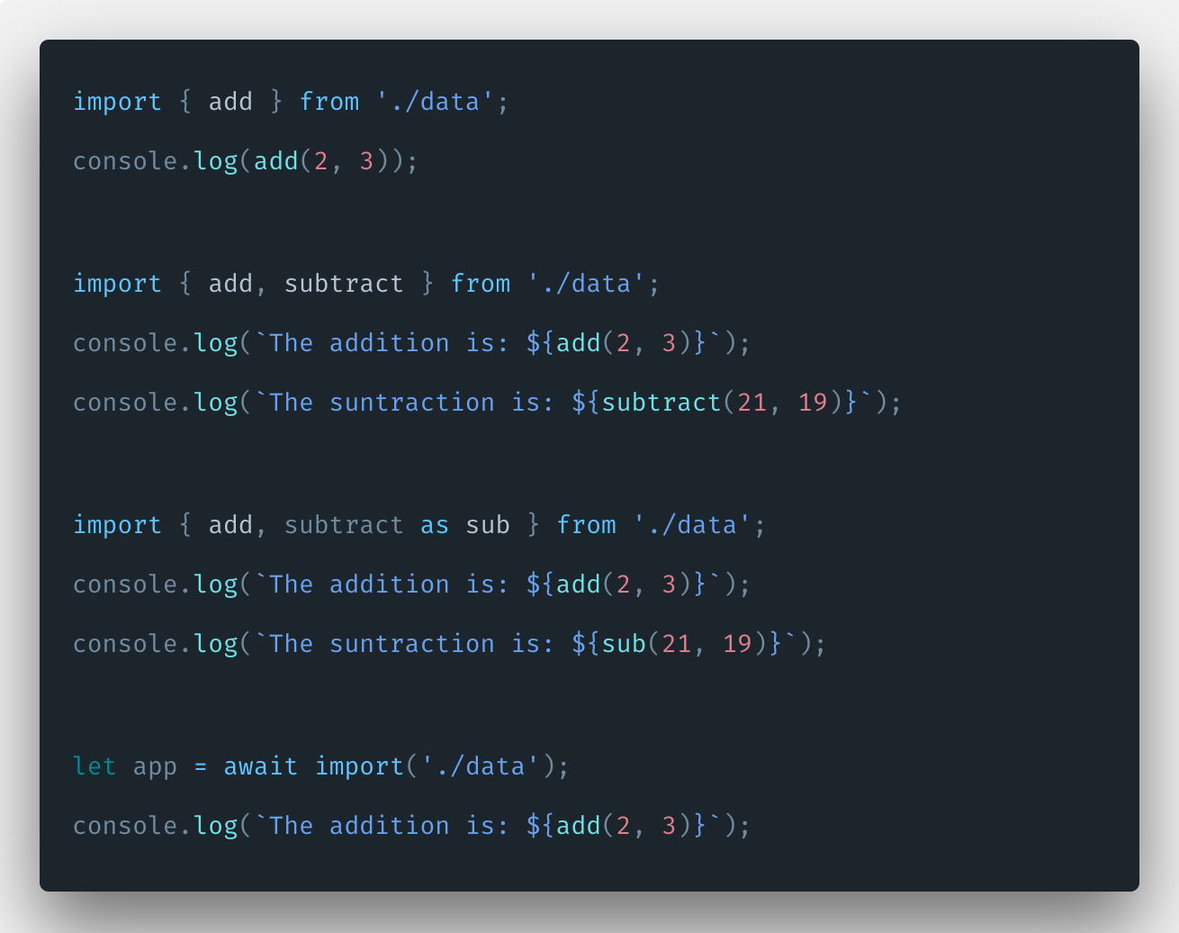 Javascript Import Statement Tutorial With Example