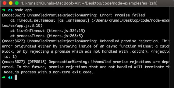 Promise.reject() Tutorial