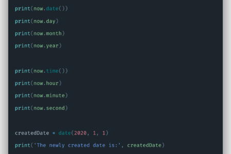 Python Datetime Example | Basic Date and Time Types Tutorial
