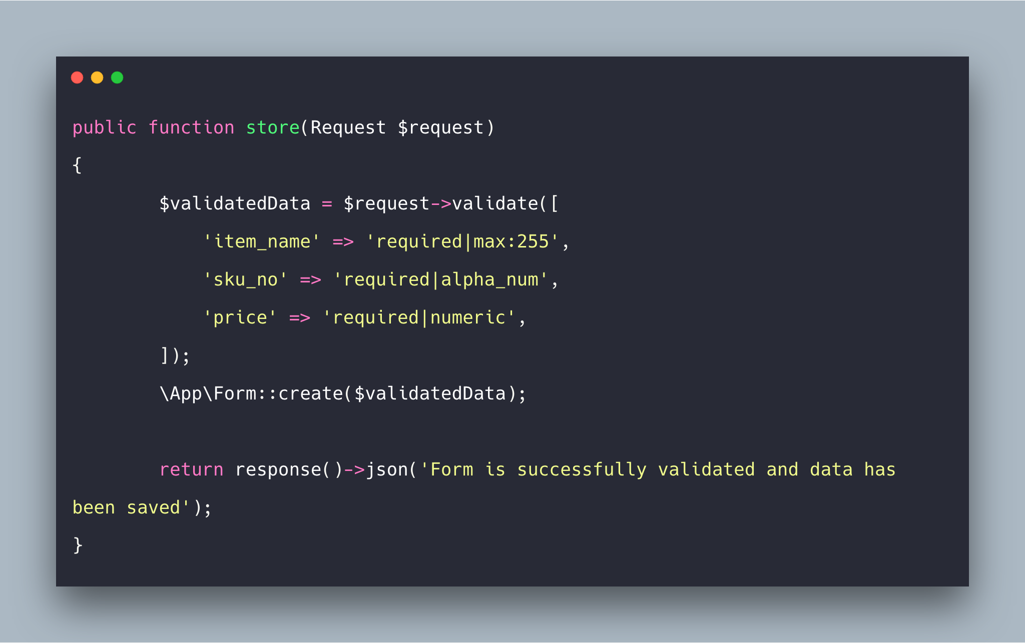 Laravel 5 8 Form Validation Tutorial With Example