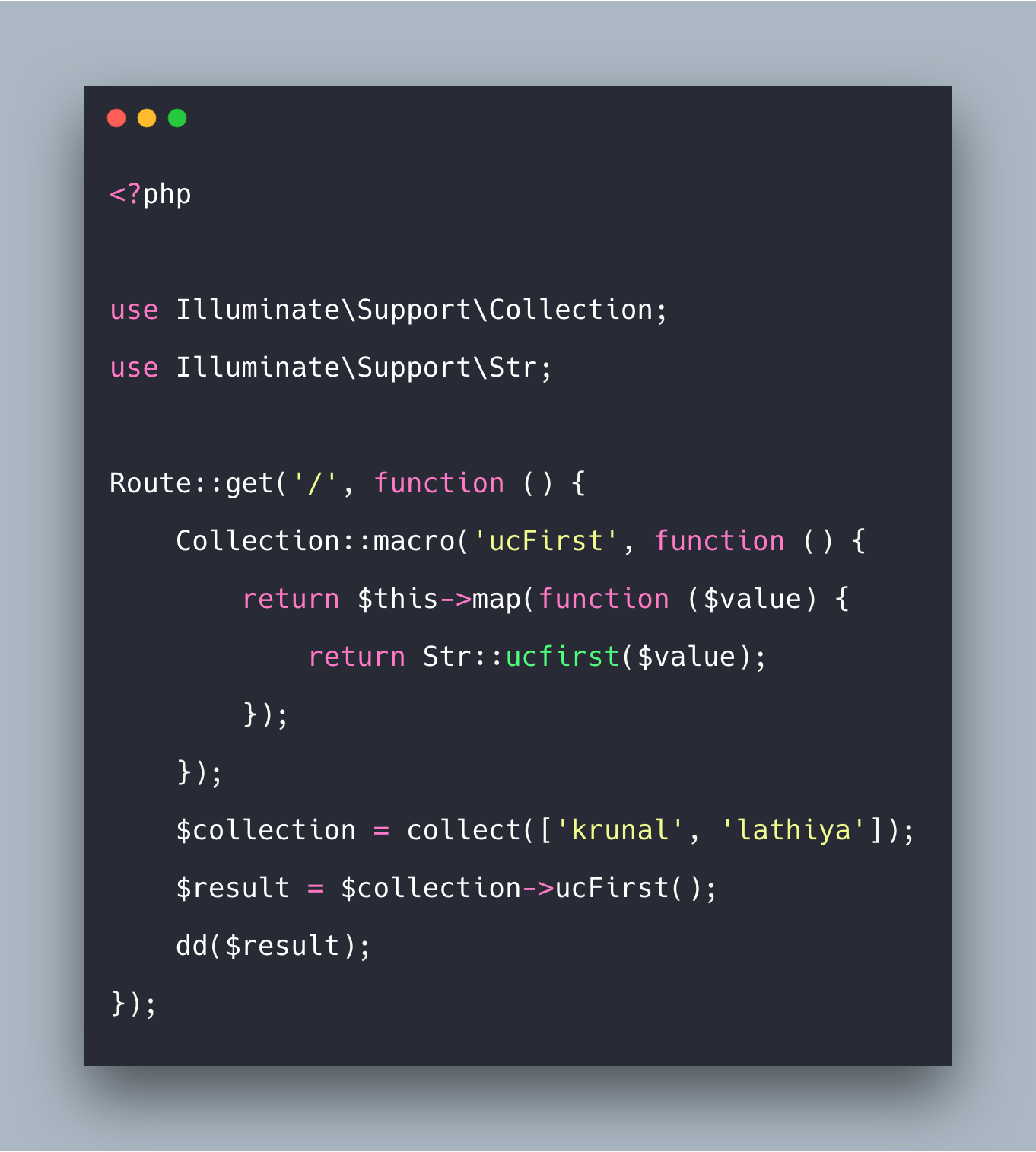 Laravel Collections Tutorial With Example