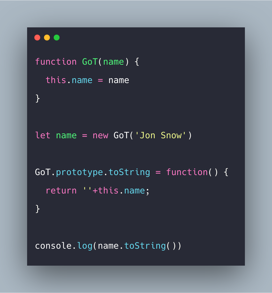 Javascript Object toString Example | Object.toString()
