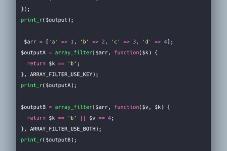 PHP array_filter Example | array_filter() Function Tutorial
