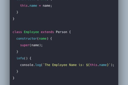 Javascript Class Example   How To Use Class in Javascript