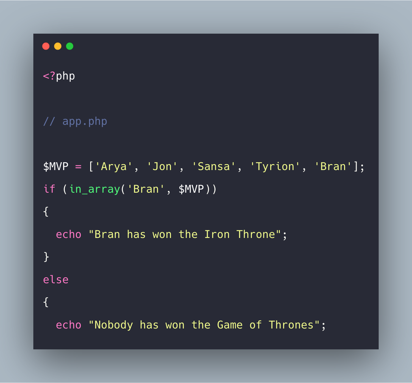 PHP in_array Example | PHP in_array() Function Tutorial