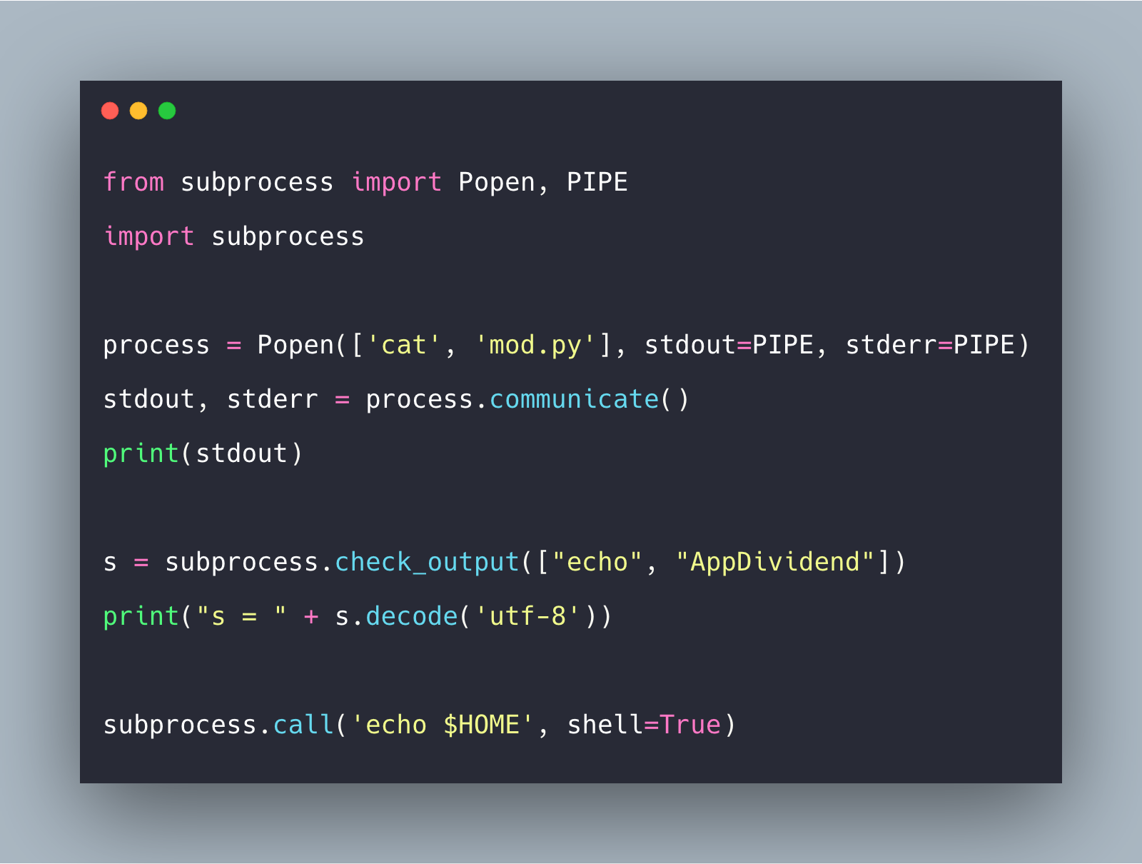 Python Subprocess How to Use Subprocess in Python