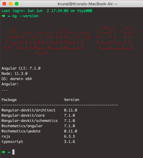 How To Update Angular CLI To Version 8