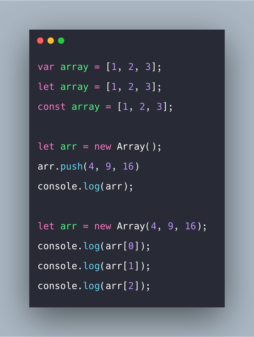 Javascript Array Tutorial With Example | Arrays in Javascript
