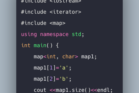 C++ Map Tutorial With Example | Standard Template Liry (STL) Map Iterator on