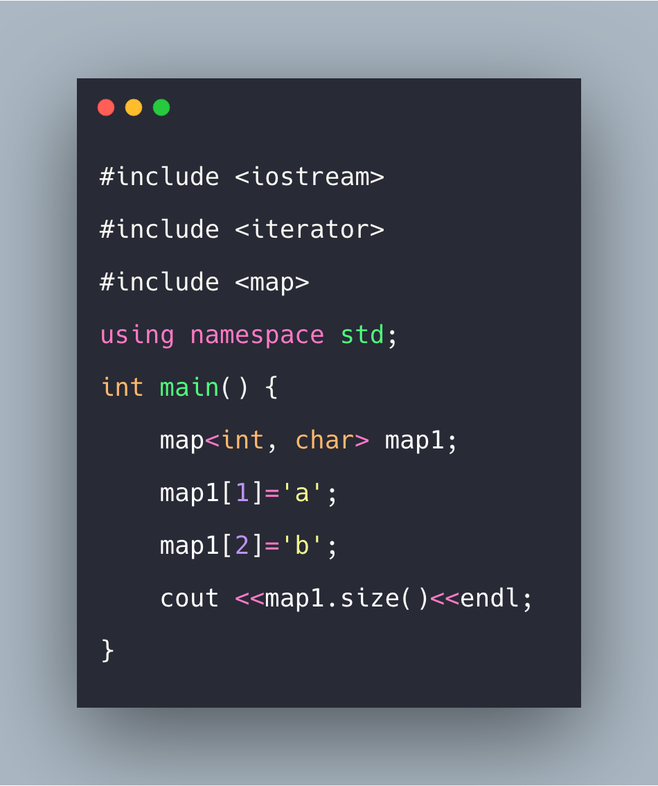 C++ Map Tutorial With Example | Standard Template Library (STL)