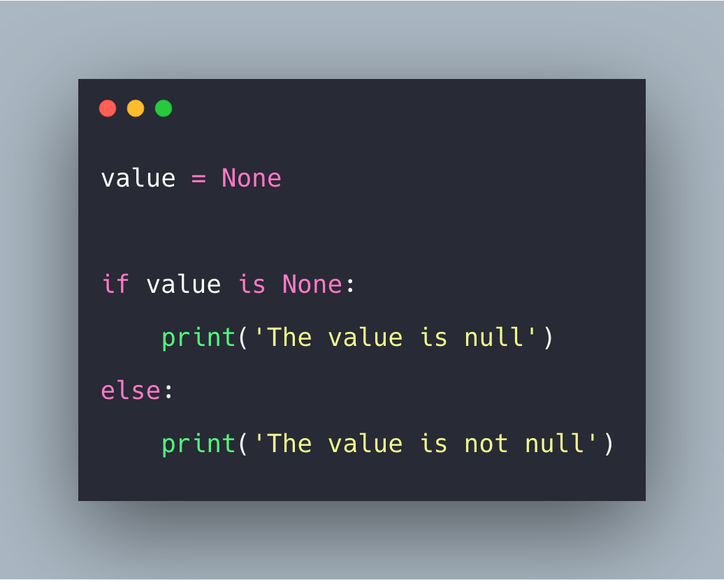 Null Object In Python Example | Python Null Value Tutorial