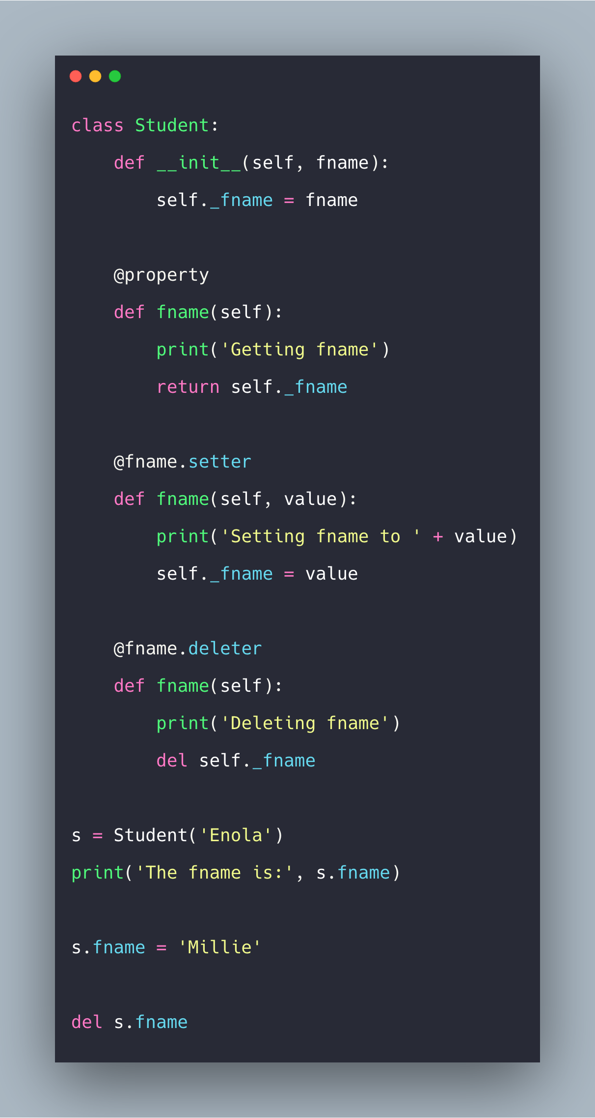 Python property: How to Use property() Function In Python