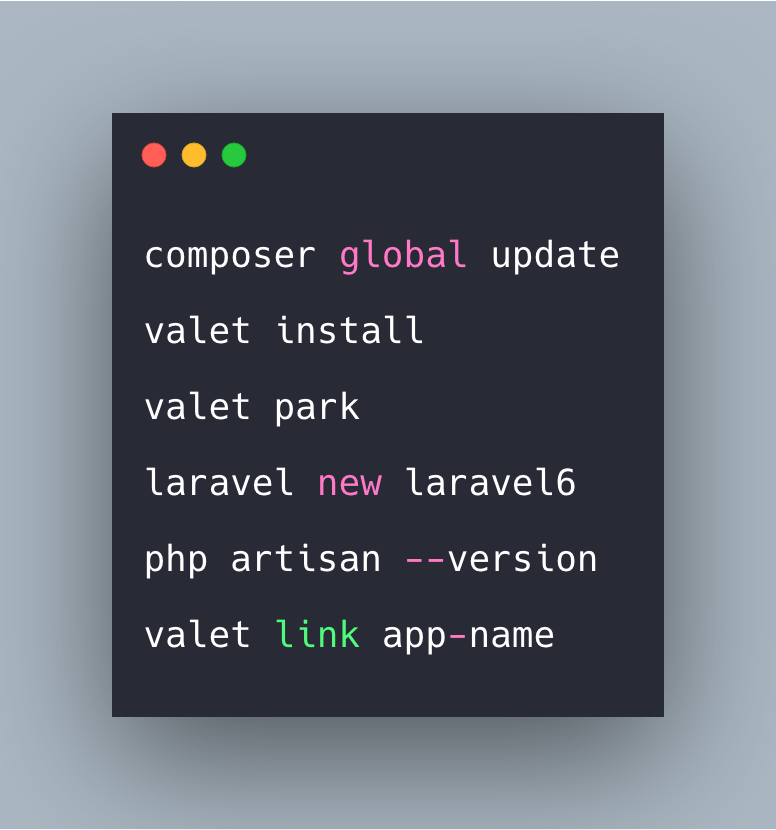How To Upgrade Laravel Valet And Update To Laravel 6