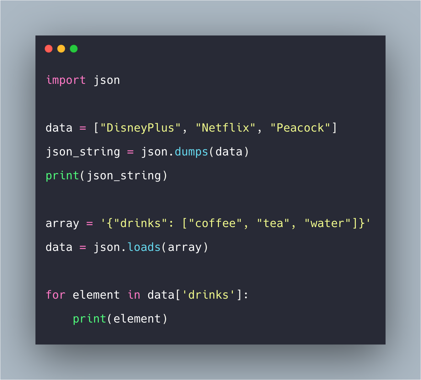 How To Convert Python List To JSON Example