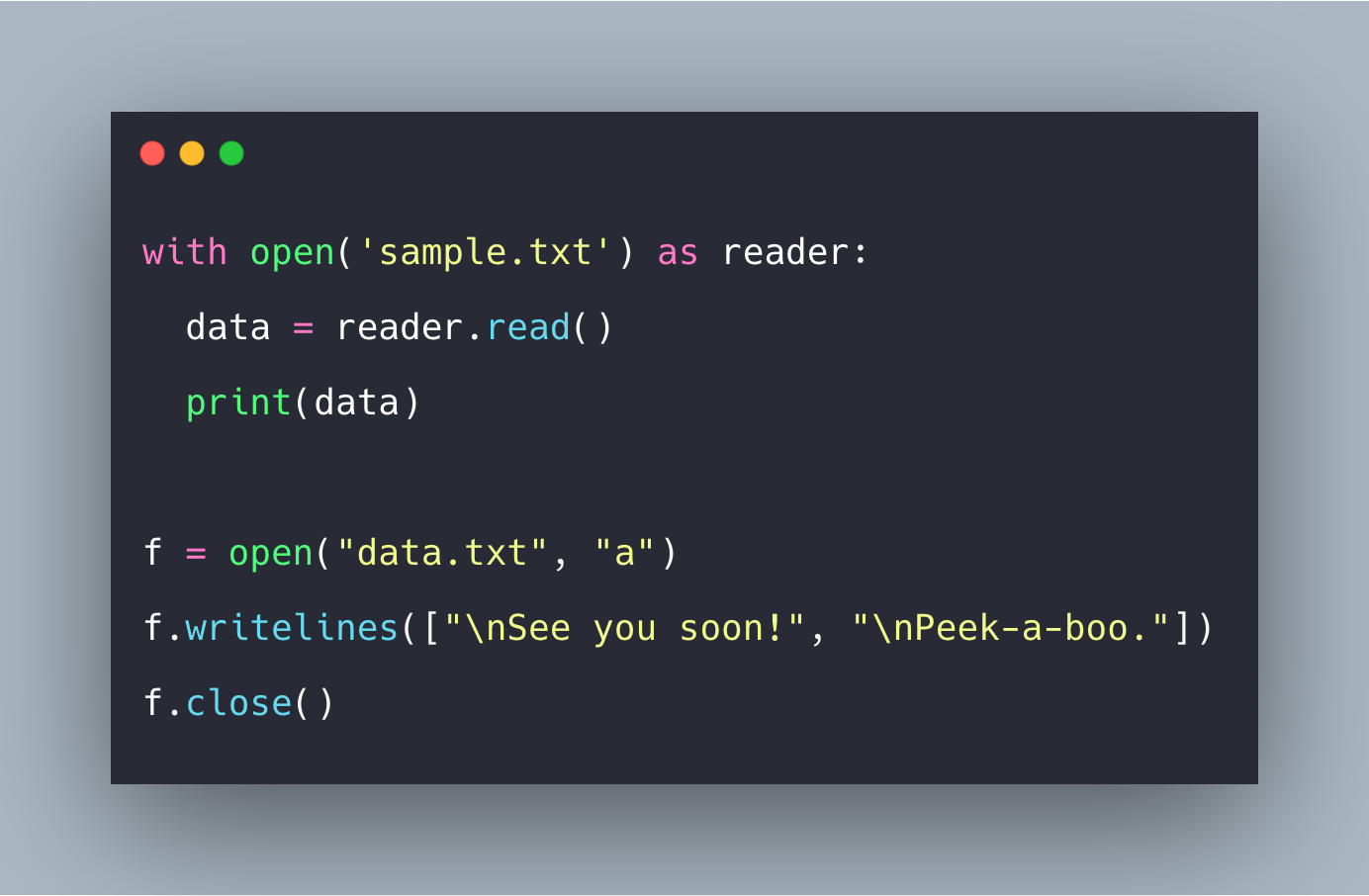 How To Read File In Python Example  Python File Read