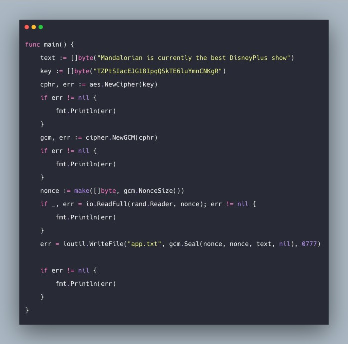 Golang Encryption Decryption Example | AES Encryption In Go