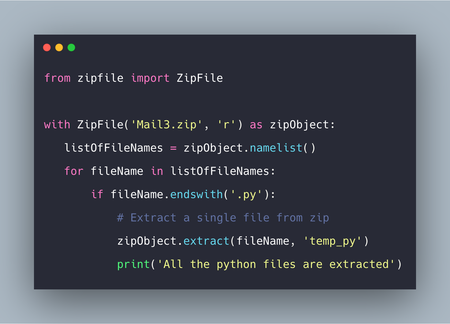 Python Unzip: How To Extract Single or Multiple Files