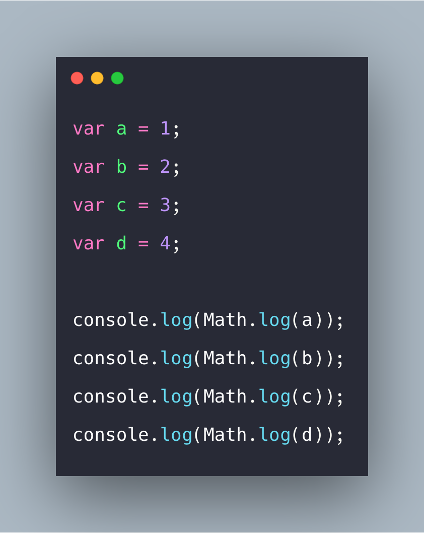 Javascript Math.log Example | Log in Javascript