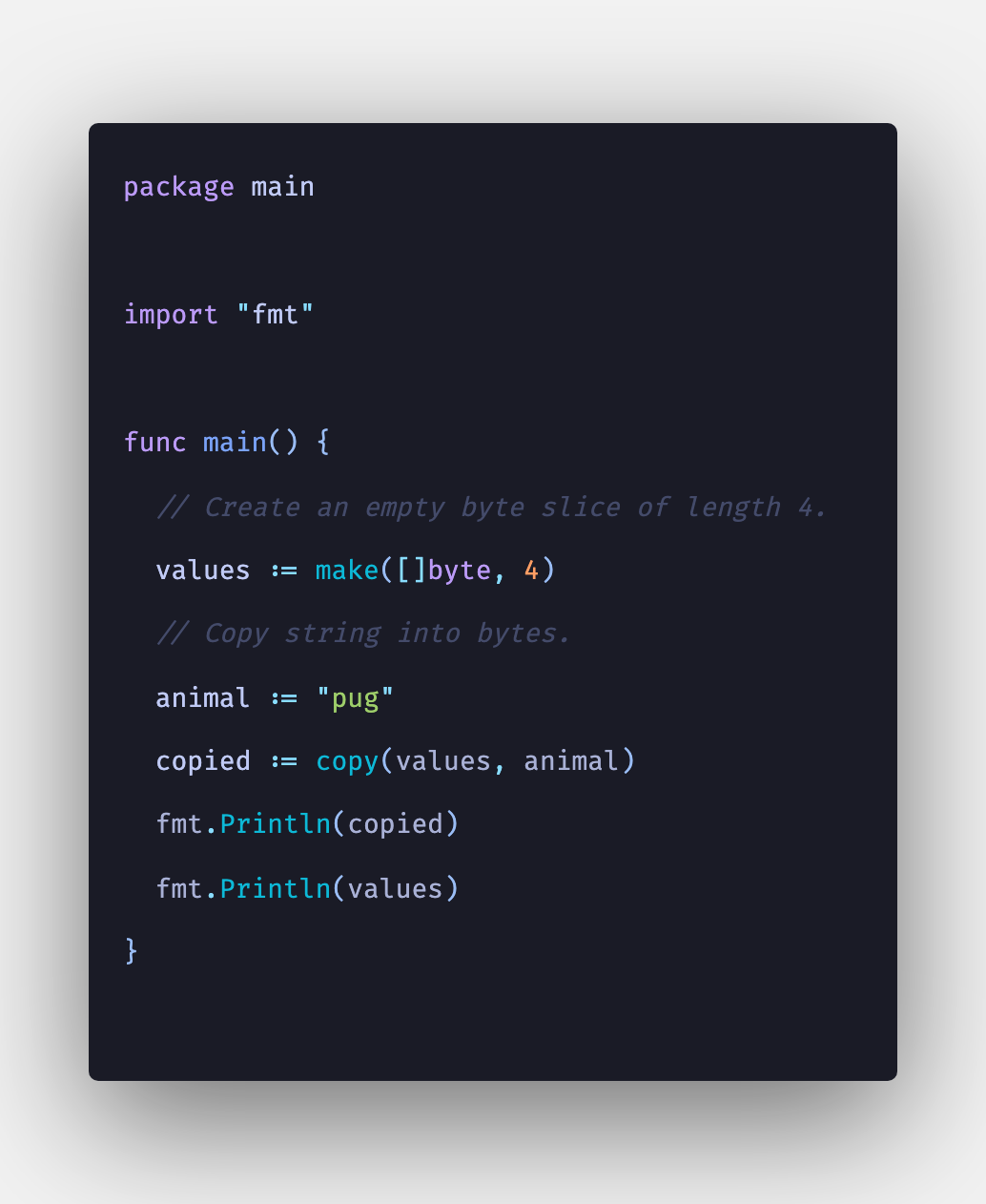 Golang: How To Convert String to Byte Array Example